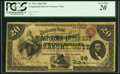 Large Size:Compound Interest Treasury Notes, Fr. 191a $20 1864 Compound Interest Treasury Note PCGS Very Fine20.. ...