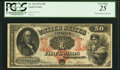 Large Size:Legal Tender Notes, Fr. 152 $50 1874 Legal Tender PCGS Very Fine 25.. ...