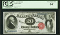 Large Size:Legal Tender Notes, Fr. 142 $20 1880 Legal Tender PCGS Very Choice New 64.. ...