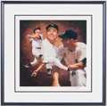 "Baseball Collectibles:Others, Mickey Mantle Signed ""Danny Day"" Lithograph. ..."