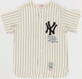 Baseball Collectibles:Uniforms, Tony Kubek Signed and Inscribed Mitchell & Ness Jersey....