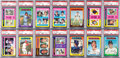 Baseball Cards:Sets, 1975 Topps Baseball Extremely High Grade Complete Set (660) With PSA Mint 9 Brett Rookie. ...