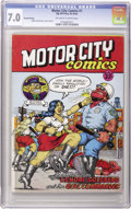 Silver Age (1956-1969):Alternative/Underground, Motor City Comics #1 Second Printing R. Crumb (Rip Off Press, 1969) CGC FN/VF 7.0 Off-white to white pages....