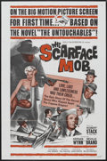 "Movie Posters:Crime, The Scarface Mob (Desilu Productions Inc., 1962). One Sheet (27"" X 41""). Crime. Starring Robert Stack, Keenan Wynn, Neville ..."