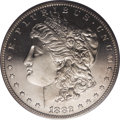 Proof Morgan Dollars: , 1882 $1 PR65 Cameo PCGS. This lovely Gem Cameo proof is nearly a candidate to receive the Dee...