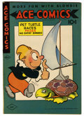 "Golden Age (1938-1955):Cartoon Character, Ace Comics #86 Davis Crippen (""D"" Copy) pedigree (David McKayPublications, 1944) Condition: VF+...."