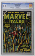 Golden Age (1938-1955):Horror, Marvel Tales #151 White Mountain pedigree (Atlas, 1956) CGC VF+ 8.5Off-white to white pages....