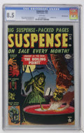 Golden Age (1938-1955):Horror, Suspense #24 White Mountain pedigree (Atlas, 1952) CGC VF+ 8.5White pages....