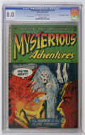 "Golden Age (1938-1955):Horror, Mysterious Adventures #14 Davis Crippen (""D"" Copy) pedigree (StoryComics, 1953) CGC VF 8.0 Off-white to white pages...."