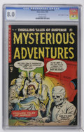 "Golden Age (1938-1955):Horror, Mysterious Adventures #16 Davis Crippen (""D"" Copy) pedigree (StoryComics, 1953) CGC VF 8.0 Off-white pages...."