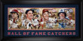 Baseball Collectibles:Others, 2004 Hall of Fame Catchers Multi-Signed Oversized Photograph fromThe Gary Carter Collection....