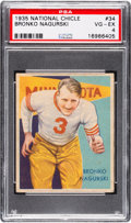 Football Cards:Singles (Pre-1950), 1935 National Chicle Bronko Nagurski #34 PSA VG-EX 4....