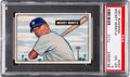 Baseball Cards:Singles (1950-1959), 1951 Bowman Mickey Mantle #253 PSA VG-EX 4....
