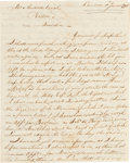 Miscellaneous:Ephemera, Jay's Treaty: A Fascinating 1798 Letter....