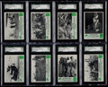 Non-Sport Cards:Singles (Pre-1950), 1966 Philadelphia Green Berets SGC Graded Collection (22). ...