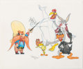 Animation Art:Production Drawing, Virgil Ross - Looney Tunes Multi-Character Illustration (WarnerBrothers, c. 1990s)....