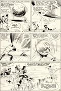 Original Comic Art:Panel Pages, Jack Kirby and Paul Reinman X-Men #2 Story Page 12 OriginalArt (Marvel, 1963)....