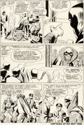 Original Comic Art:Panel Pages, Jack Kirby and Paul Reinman X-Men #2 Story Page 5 OriginalArt (Marvel, 1963)....