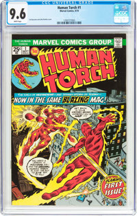 The Human Torch #1 (Marvel, 1974) CGC NM+ 9.6 White pages