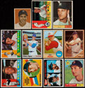 Baseball Cards:Lots, 1949-70 Bowman & Topps Baseball Stars & HoFers Collection(11)....