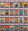 "Non-Sport Cards:Sets, 1933 R136 National Chicle ""Sky Birds"" Complete Set (108) - #1Current Finest on the PSA Set Registry With An Impressive 7.5 GP..."