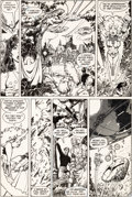 Original Comic Art:Panel Pages, George Perez World's Finest #300 Story Page 11 New TeenTitans Original Art (DC, 1984)....