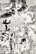 Original Comic Art:Panel Pages, John Byrne and Jerry Ordway Fantastic Four #280 Story Page15 She-Hulk Original Art (Marvel, 1985)....