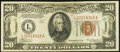 Fr. 2305 $20 1934A Mule Hawaii Federal Reserve Note. Very Fine