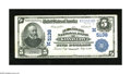 National Bank Notes:Missouri, Kansas City, MO - $5 1902 Plain Back Fr. 606 The New England NB Ch.# (M)5138. This is a bright $5 with a small spot at ...