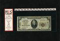 National Bank Notes:Nebraska, Lincoln, NE - $20 1929 Ty. 1 The Continental NB Ch. # 13333. This note is graded Apparent Fine 15 by PCGS....