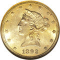 Liberty Eagles, 1892-O $10 MS62 NGC....