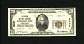National Bank Notes:Pennsylvania, Mahanoy City, PA - $20 1929 Ty. 2 The Union NB Ch. # 3997. A small paper clip stain at top center doesn't distract on t...