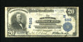 National Bank Notes:Pennsylvania, Philadelphia, PA - $20 1902 Plain Back Fr. 650 The Southwark NB Ch.# (E)560. The Southwark was chartered in October 186...