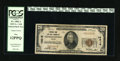 National Bank Notes:Virginia, Charlottesville, VA - $20 1929 Ty. 1 NB & TC Ch. # 10618. Broadmargins surround this boldly colored note. Only 26 small...