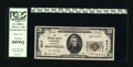 National Bank Notes:Washington, Tacoma, WA - $20 1929 Ty. 1 The NB Ch. # 3417. Save for a small run of CU consecutively numbered $10's, small size notes...