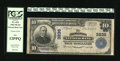 National Bank Notes:West Virginia, Charleston, WV - $10 1902 Plain Back Fr. 624 The Charleston NB Ch.# 3236. This Kanawha County bank issued in excess of ...