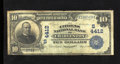 National Bank Notes:West Virginia, Charleston, WV - $10 1902 Date Back Fr. 619 The Citizens NB Ch. #(S)4412. Eight large size notes exist off this bank w...