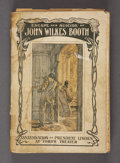 Military & Patriotic:Civil War, FINIS L.: ESCAPE AND SUICIDE OF JOHN WILKES BOOTH, 1907....