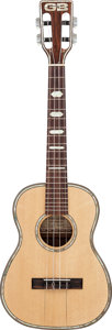 Musical Instruments:Banjos, Mandolins, & Ukes, 1980 David Gomes T-102 Natural Tenor Ukulele Made for George Benson....