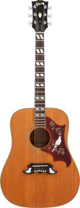 Musical Instruments:Acoustic Guitars, 1973 Gibson Dove Natural Acoustic Guitar, Serial #9 52371....