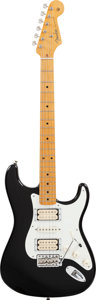 Musical Instruments:Electric Guitars, Circa 2011 Fender Dave Murray Signature Stratocaster Black SolidBody Electric Guitar, #V204983....
