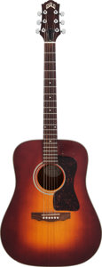Musical Instruments:Acoustic Guitars, Circa 1990s Guild D-25 Sunburst Acoustic Guitar, Serial #D253312....
