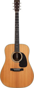Musical Instruments:Acoustic Guitars, 1957 Martin D-28 Natural Acoustic Guitar, Serial #157976....