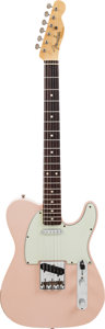 Musical Instruments:Electric Guitars, 2008 Fender Telecaster Shell Pink Solid Body Electric Guitar,Serial # R42091....
