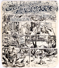 Jurney to Evermore Title Page Original Art (c. 1960-70s)