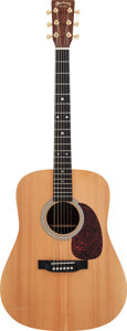 Musical Instruments:Acoustic Guitars, 2007 Martin Custom Natural Acoustic Guitar, Serial #1125590....