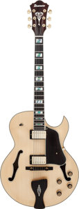 Musical Instruments:Electric Guitars, George Benson Ibanez LGB-30-NT Natural Archtop Electric Guitar,Serial #ss14110002....