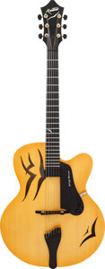 Musical Instruments:Electric Guitars, 1998 Mortoro Starling Natural Archtop Electric Guitar, Serial #3398, from the Personal Collection of George Benson,...