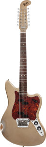 Musical Instruments:Electric Guitars, 1966 Fender Electric XII Shoreline Gold Twelve String Solid Body Electric Guitar, Serial # 133456. ...