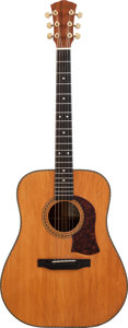 Musical Instruments:Acoustic Guitars, 1975 Mossman Tennessee Flat Top Natural Acoustic Guitar, Serial#75-1651....